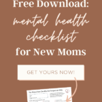 A checklist for new moms