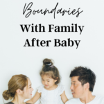 Set boundaries with family