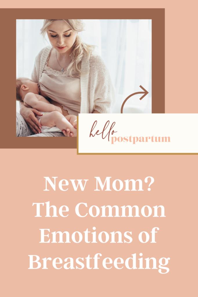Breastfeeding and emotions