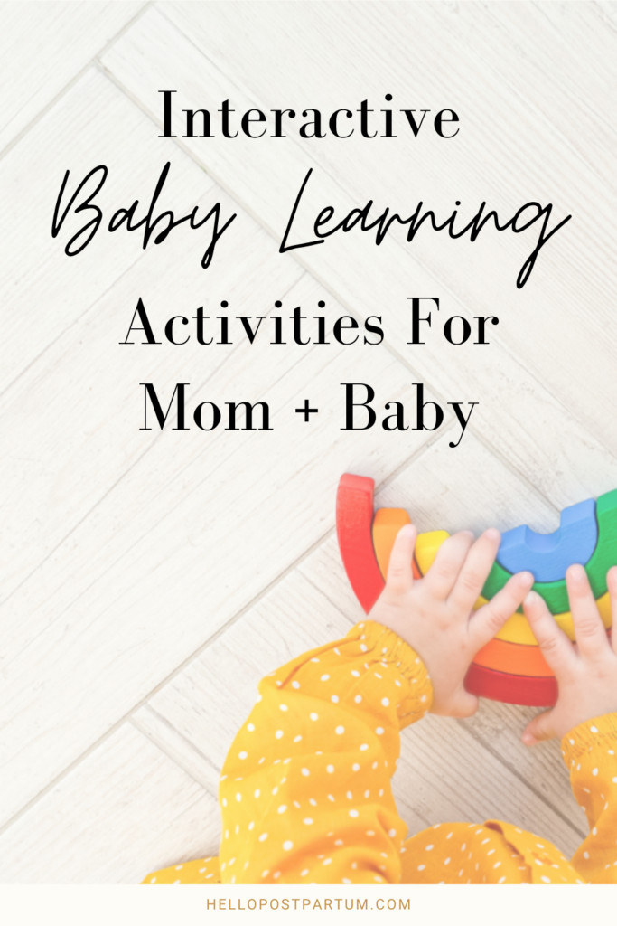 Interactive learning for baby