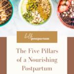 Postpartum diet