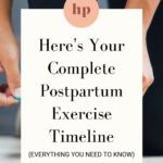 Postpartum recovery