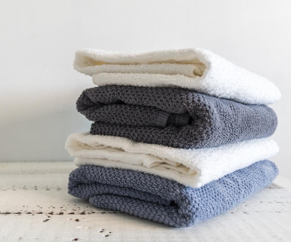 pile of freshly folded towels